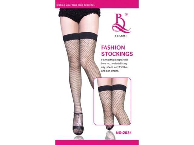 Meia 7/8 Arrastão Fashion Stockings - 2031-1