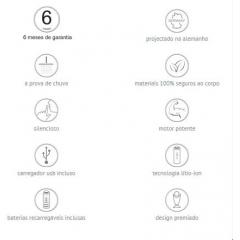 Mini Estimulador Clitoriano Recaregável - Lilac - OVO LifeStyle