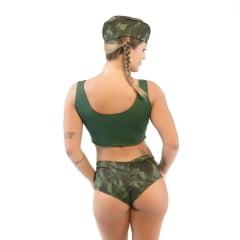 Fantasia Militar Short Amareto