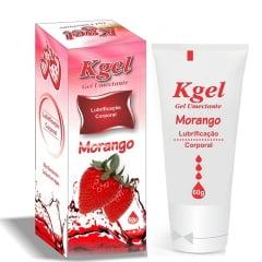 Gel Lubrificante Morango 60g K-gel