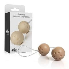 Ben-wa - Conjunto 2 Bolas Pompoar Tailandesas - Marfim