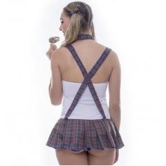 Fantasia Kit Colegial Vestido