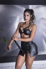 Fantasia Secretária Sexy Garota Veneno