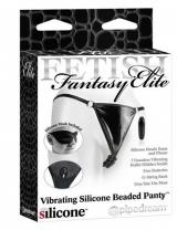 Vibrating Silicone Beaded Panty Calcinha Vibratória