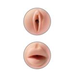 Masturbador Masculino Vagina e Boca Realística - Tight Grip Pussy & Mouth Pipedream