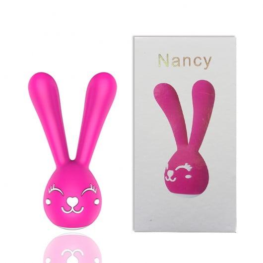 Vibrador Formato Coelho com 20 Modos de Vibração - Nancy Pink