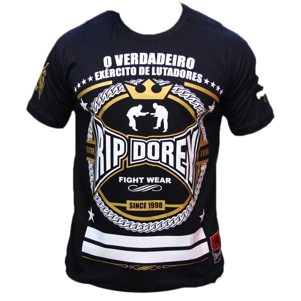 Camiseta Manga Curta Exército de Lutadores