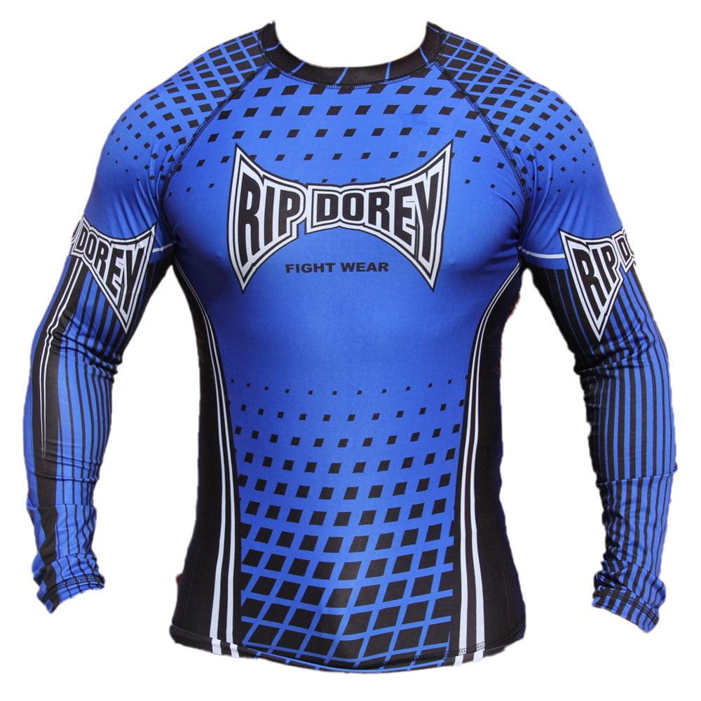 Camisa RashGuard de Treino Manga Longa PRO - Faixa Azul