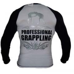 Camisa de Treino Professional Grappling Branca