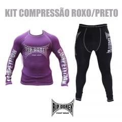 Kit Roupas de compressão para treino de submission, sem kimono