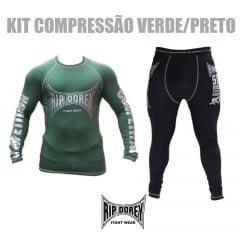 Kit Promocional Conjunto de Compressão Preto