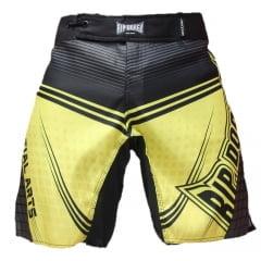 Short de Competição Energy Fighter Amarelo e Preto