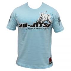 Camiseta Manga Curta Jiu-Jitsu A Melhor Luta