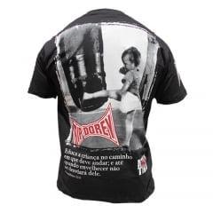 Camiseta Manga Curta Muay-Thai Provérbio