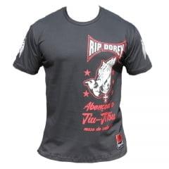 Camiseta Manga Curta Abençoai o Jiu-Jitsu nosso de cada dia