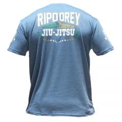 Camiseta Manga Curta Brazilian Fighters Azul