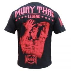 Camiseta Manga Curta Especial Muay Thai Legend