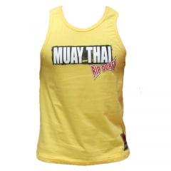 Regata Muay Thai Fighter Amarela