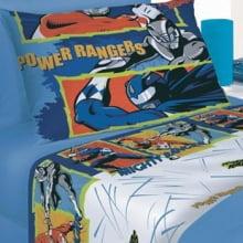 Jogo de Cama Infantil Artex - Solteiro - 100% Algodão - Power Rangers
