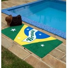 Toalha de Praia Karsten - 310g/m² - 100% Algodão - Brasil