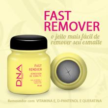 FAST REMOVER - REMOVEDOR DE ESMALTES - DNA ITALY