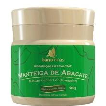 MÁSCARA BARRO MINAS - MANTEIGA DE ABACATE -BARROMINAS