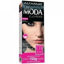 TINTURA ALTA MODA 1.11 – PRETO AZULADO - ALTA MODA 150G